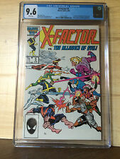 X-Factor #5 (Jun 1986, Marvel) CGC 9.6 1st appearance Apocalypse in cameo
