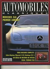 AUTOMOBILES CLASSIQUES n°63 09/1994 DELAHAYE V12 COBRA DAYTONA MASERATI 4CLT