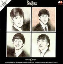 THE BEATLES Words & Music 1984 UK 40-track double vinyl LP EXCELLENT CONDITION