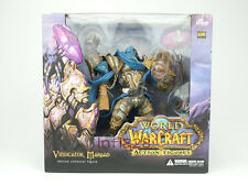 WOW World of Warcraft Vindicator Maraad Deluxe Collector Action Figure Brand new