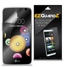 4X EZguardz LCD Screen Protector Skin Cover Shield HD 4X For LG K4 LTE (Clear)