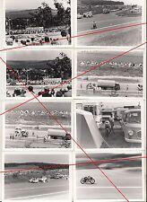 Foto Konvolut Auto - Motorrad Rennen Tschechien ? Grand Prix ? um 1980 !