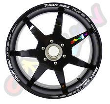 Strisce adesive per cerchi moto tipo 2 YAMAHA TMAX 530 sticker  T-MAX T MAX