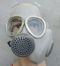 Surplus Vietnam Chinese Full Face gas mask with pouch-D163