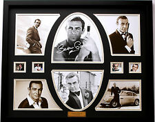 New Sean Connery Signed Limited Edition Memorabilia Framed