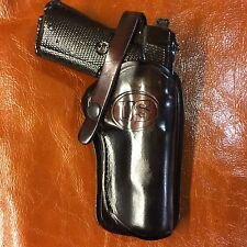 "Colt 1911 5"",Springfield,Remington ,Kimber, Leather Brown Western Holster"