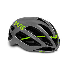 kask protone anthracite lime size M