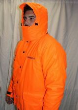 Winchester Blaze Hunter Orange Insualted Water Resistant Parka Jacket Large New