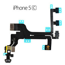 For Apple iPhone 5C Main Power On Off Switch Button Mic Sensor Flash Cable Flex