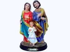 """SAGRADA FAMILIA-HOLY FAMILY 9"""" INCH STATUE 13019-9 NEW IN PROTECTED BOX"""