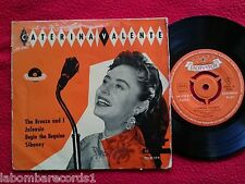 "CATERINA VALENTE The Breeze And I 7"" EP ORIGINAL 50's Spain (VG/VG++)   5"