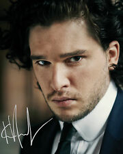 KIT HARRINGTON #1 10X8 PRE PRINTED (SIGNED) LAB QUALITY PHOTO - FREE DELIVERY