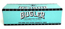 Bugler King Size Cigarette Tubes (box) 200 Full Flavor Filter Tubes NEW USA