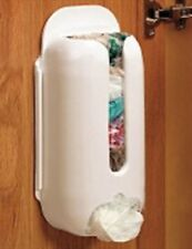 Wall Mount Plastic Carrier Bag Storage Container Holder Organizer Recycle Box