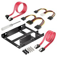 Inateck 2x 2.5 Inch SSD to 3.5 Inch Internal Hard Disk Drive Mounting Kit Bracke