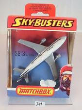 Matchbox Sky-Busters Skybusters SB-3 Airbus A300 B Lufthansa OVP #319
