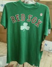 Boston Red Sox 47 Brand officially licensed Men's Scrum t-shirt NWT Size Large
