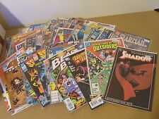 25 x MIXED COMIC BOOK WHOLESALE COLLECTION JOB LOT - MARVEL, DC, DARK HORSE  etc