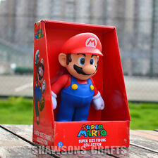 "SUPER MARIO BROTHERS TOYS LARGE SIZE 9"" MARIO ACTION FIGURE"
