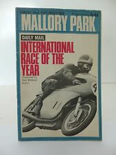 Mallory Park International Race of the Year Cycle Race Programme 22.09.1968