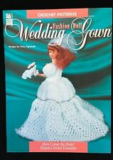 House of White Birches Crochet Fashion Doll Wedding Gown Leaflet