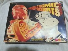 COSMIC ROBOTS GAME MARX TOYS 1970'S LARGE CLASH OF THE COSMIC ROBOTS IN WORKING