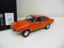 1:18 NOREV Opel Manta A orangerot ziegelrot orange - red NEU NEW