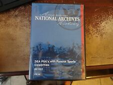 National Archives American History DEA PSA with Famous Sports Celebrities DVD