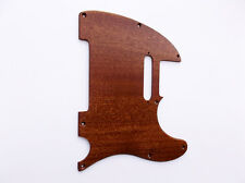 CR CUSTOMSHOP DELUXE WOOD PICKGUARD FOR FENDER TELE TELECASTER MAHOGANY