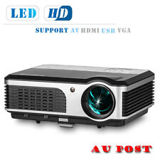 3800lm LCD LED Projector Home Cinema Theater 1080p HD Movie HDMI VGA USB AV DVD