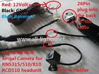 RGB Parking Camera for RNS315 RNS510/810 RCD510 Rear View Reverse Backup Camera