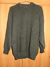 Barbour Mens Pure New Wool Jumper Sweater Size 122cms  48''