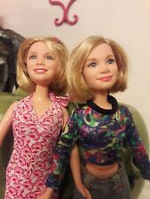 Mary Kate and Ashley Olsen Twin Dolls Mattel Inc 1987
