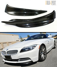 CARBON FIBER SPLITTER FOR 2009-2014 BMW Z4 E89 W/ REGULAR NON-MTECH FRONT BUMPER