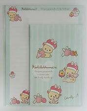 San-X Letter Sets Rilakkuma You Gonna Be A Sweetie, Cutie & Lovely Strawberry