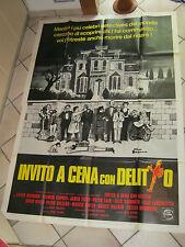 MANIFESTO,1976 INVITO A CENA CON DELITTO-Murder by Death, Moore,Guinness,Falk