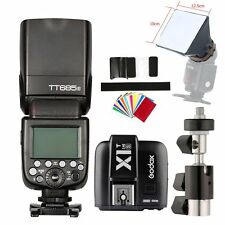 Godox TT685S GN60 TTL HSS Speedlite for Sony + X1T-S Flash Trigger Transmitter