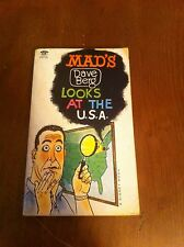 Vintage Mad's Magazine Dave Berg Looks At The USA U.S.A. Compilation PAPERBACK