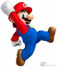 SUPER MARIO VINYL WALL STICKER WALL DECAL