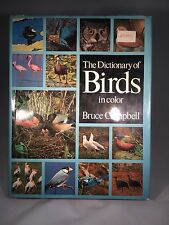 THE DICTIONARY OF BIRD IN COLOR BY BRUCE CAMPBELL