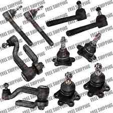 AWD Chevy Astro/Gmc Safari Front Steering Kit Tie Rod End Ball Joints Idler Arm