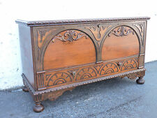 Tall and Large Cedar Hope Chest Trunk Coffee Table Bench by Caswell-Runyan 8893A