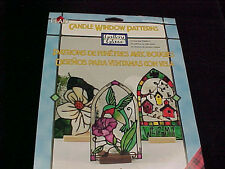 Gallery Glass Candle Window Patterns 23 Full Size Patterns