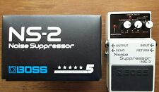 Boss NS-2 Noise Suppressor NS2 Noise Gate Electric Guitar Pedal