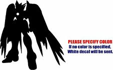 Vinyl Decal Sticker - Gundam Wing Zero Car Truck Bumper Window Laptop JDM Fun 6""