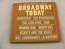Popular Broadway Songs- Broadway Today  Audio CD - Hairspray - Mamma Mia - More