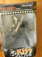 "KISS ALIVE THE DEMON GENE SIMMONS 12"" ACTION FIGURE LIMITED EDITION MCFARLANE"