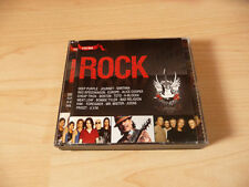 4 CD Box Rock: Europe Boston Mr Mister Him Cheap Trick Alice Cooper Santana Toto