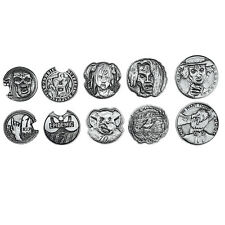 Norse Foundry RPG D20 Adventure Coins Variety Gold Piece Set of 10 Zombies Dead
