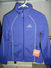 EIDER AZIMUT SOFT SHELL JACKET WOMEN'S SIZE 4 BLUEBERRY NWT SRP $160